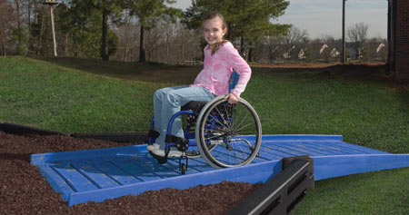 child handicap ramp